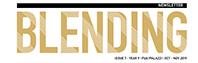The October/November  Issue of Blending Newsletter 2019
